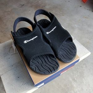 Champion Boys Sandals NWT Size 13